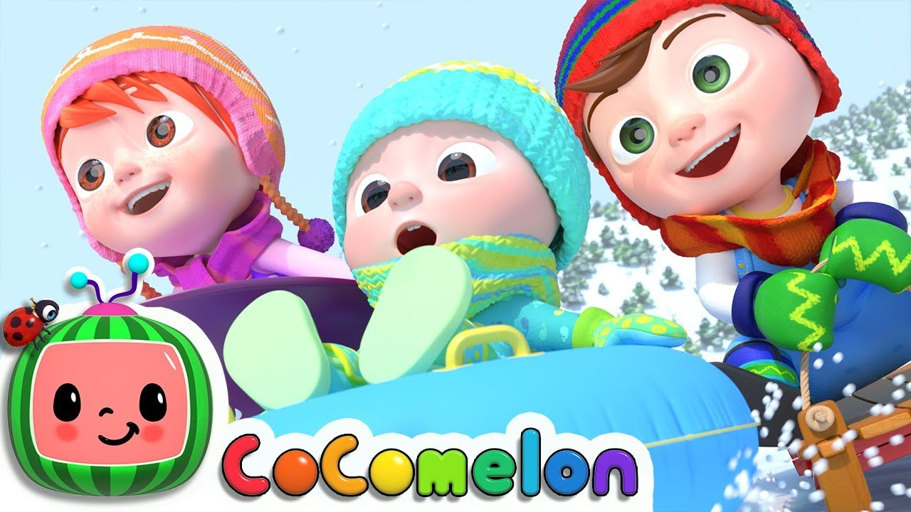 Winter Song (Fun in the Snow) | CoCoMelon Nursery Rhymes & Kids Songs