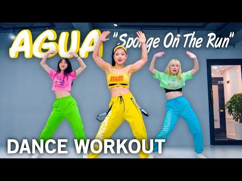 [Hit-Pop Dance] Tainy, J Balvin – Agua (Sponge On The Run) | MYLEE Cardio Dance Workout, Fitness