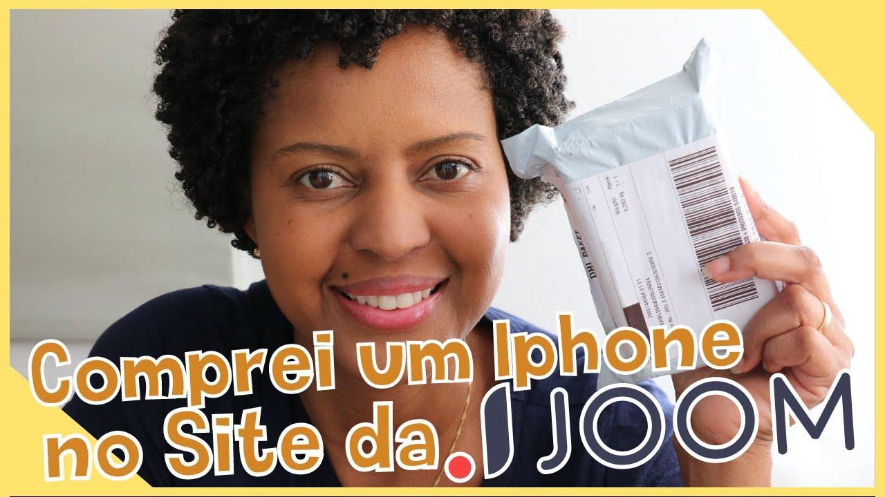 Comprei um Iphone no site da JOOM