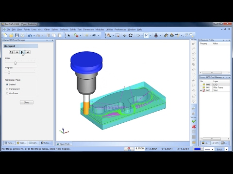 Open Pocketing - BobCAD-CAM Quick Tip