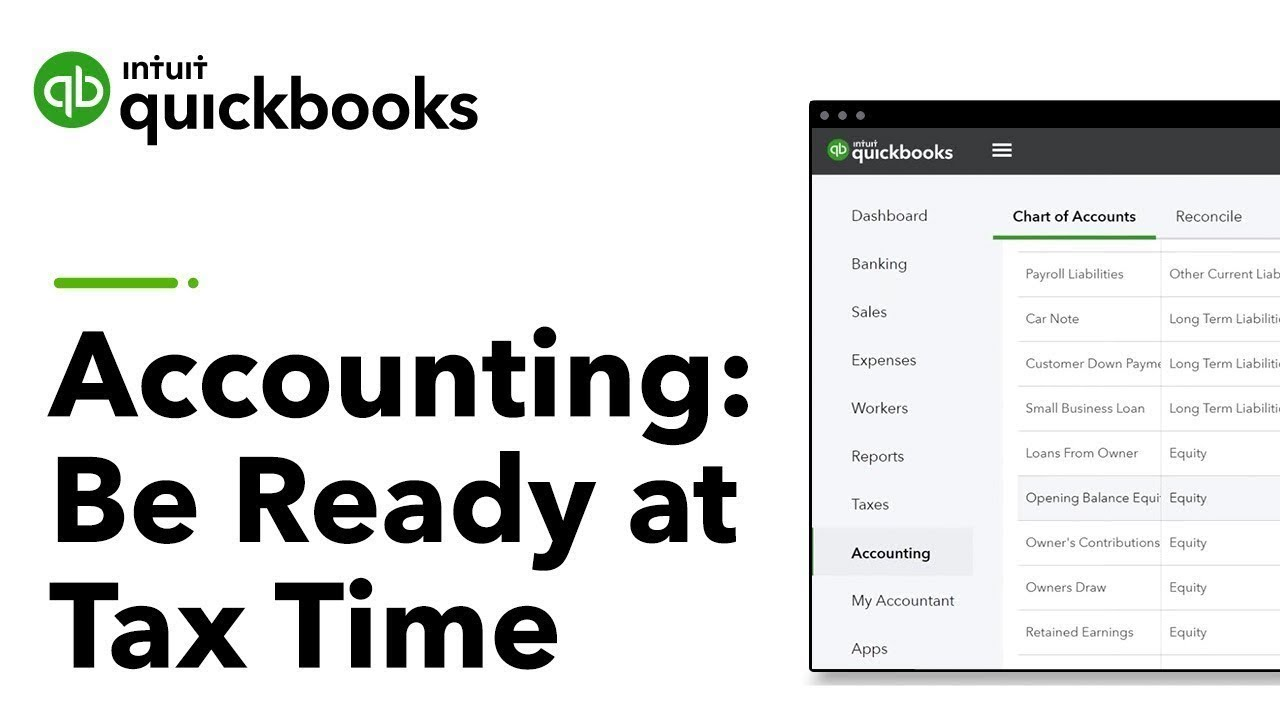 Download Accounting 101: Be Ready at Tax Time! | QuickBooks Training Webinars 2019