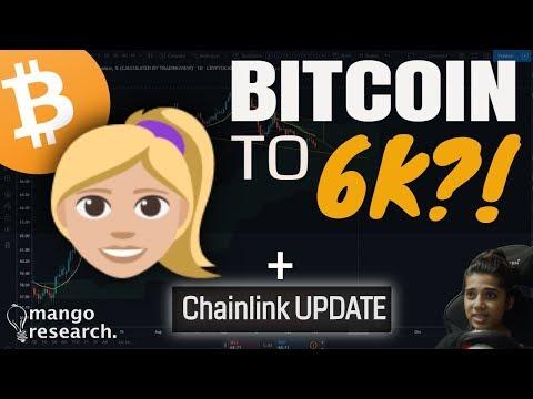Bitcoin to 6K!? - BTC Price Targets   LINK Update   BTC Prediction & Analysis Today  October 2019 🏮