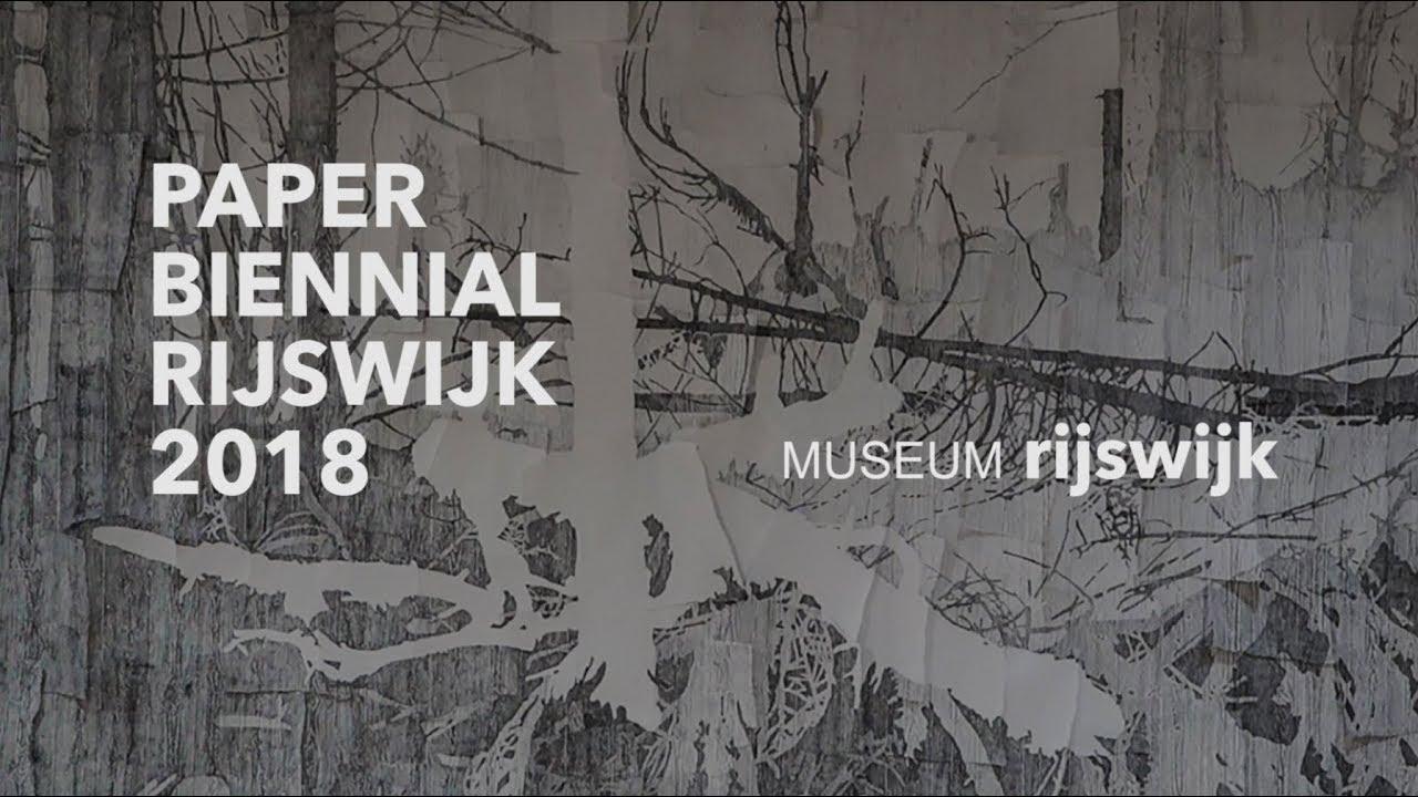 Papier Tentoonstelling Rijswijk.Papier Biennale Rijswijk 2018