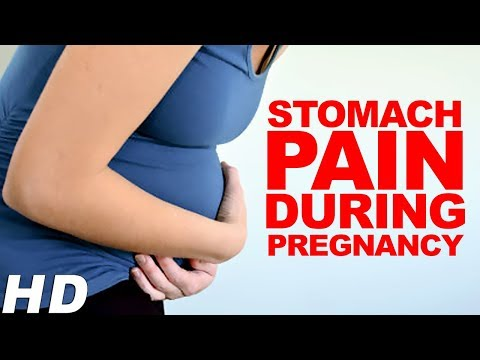 Pain in top middle of stomach while pregnant