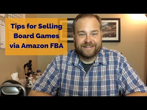 Selling Board Games on Amazon FBA - Top Tips for Selling Games on Amazon