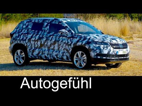 Skoda Karoq all-new compact SUV neu Yeti successor - Autogefühl