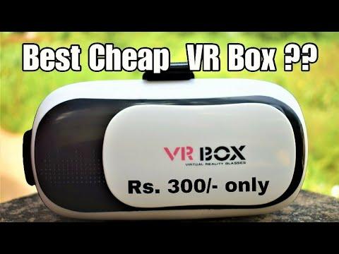 Cheapest VR Box Review | Virtual Reality Headset (Hindi)