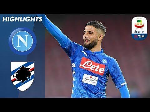 Napoli 3-0 Sampdoria | 2 Goals In 2 Minutes for Hosts! | Serie A