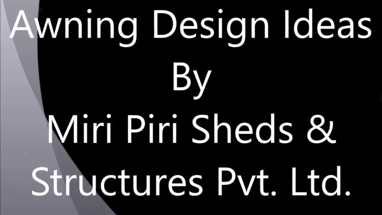 Awning Design Ideas Designs For Residential And Commercial Buildings Awnings Canopies Delhi