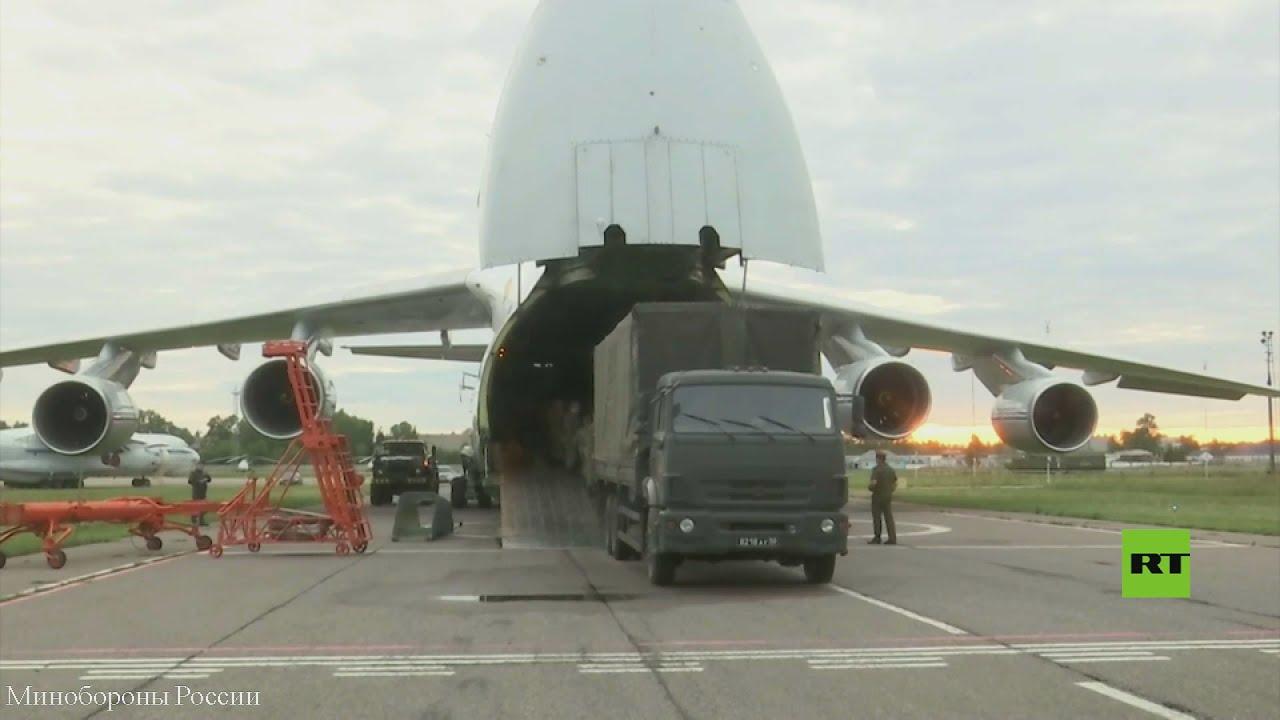 روسيا ترسل طائرتى نقل عسكريتين محملتين بمساعدات إنسانية إلى كوبا