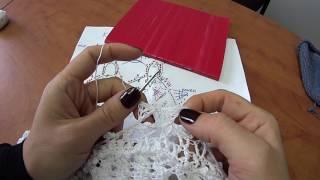 Платье Оливия крючком. Часть 11 Кокетка