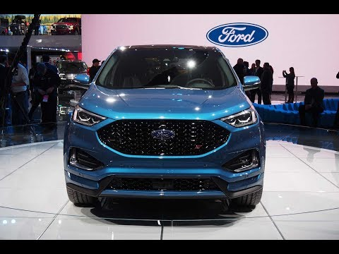 HOT NEWS!! 2019 Ford Edge ST: Release Date, Price and Specs | Furious Cars