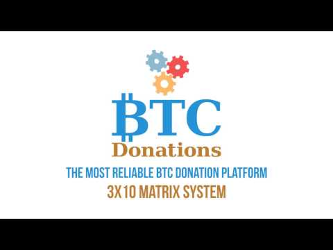 Welcome To BTC Donations