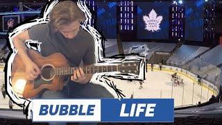 NHL BUBBLE VLOG #4 - GUITAR, GOLF \u0026 GAME 1 | Kasimir Kaskisuo Vlog - Toronto Maple Leafs
