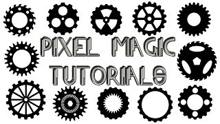 Easy Gears and Sprockets - Photoshop Tutorial