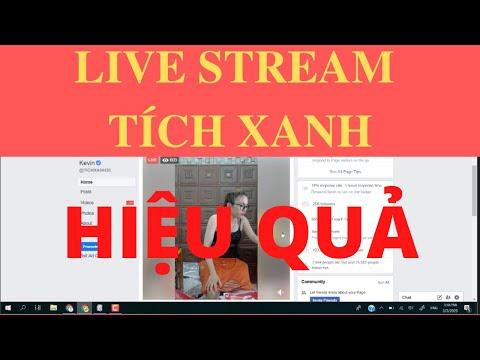 Quảng Cáo Live Stream | 1000 đơn mỗi ngày nhờ Fanpage tích xanh như thế nào ? | Nguyễn Hoàng Nam