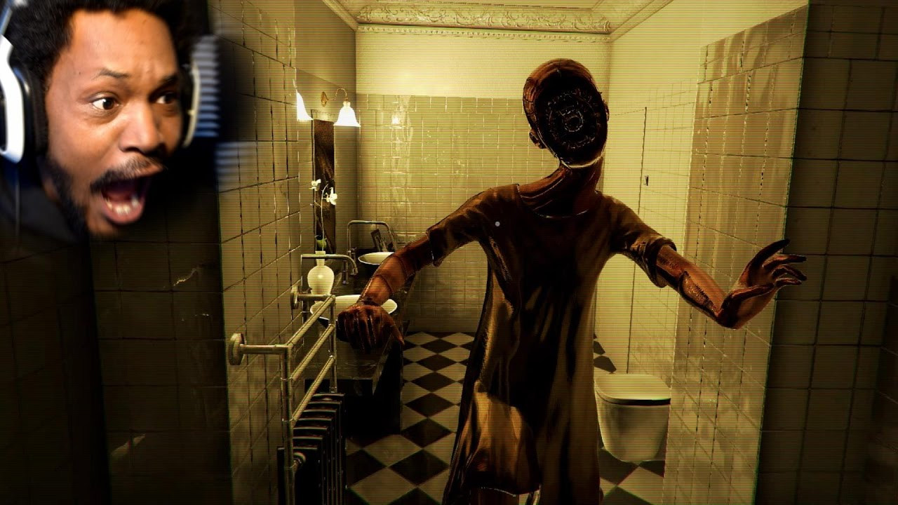 bathroom horror game where the freak did you come from bathroom gameplay 10085