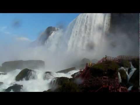 Niagara Falls - Cave of the Winds, Bridal Veil Falls