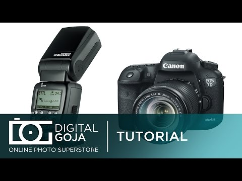 Canon Speedlite 600EX RT: Optical Slave Trigger Function with the Built In Flash | Video Tutorial