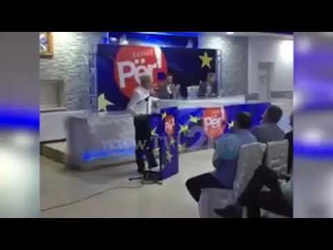 Али Ахмети говори на македонски јазик во Пласница