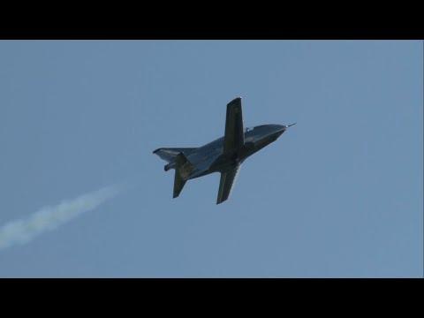 2013 New Garden Airshow - FLS Microjet