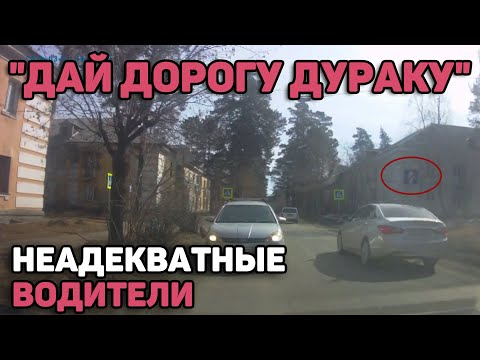 """Автоподборка """"Дай дорогу дураку""""🚗Неадекватные водители#111"""
