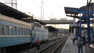 ЧС7-291, прибытие в Днепропетровск