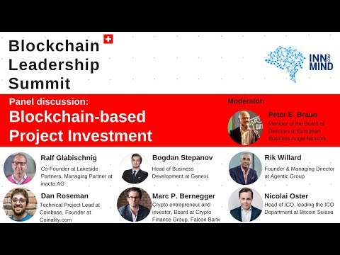 Blockchain project investment: panel discussion on #BLS2018