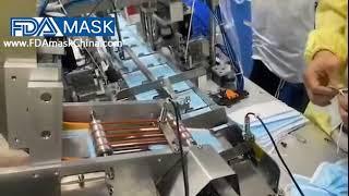 마스크 바디 페이징 공급 메커니즘 부품 자동 마스크 E…