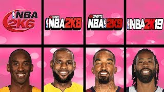 Highest Rated Dunkers Ever In NBA 2K Games (NBA 2K3 - NBA 2K19)