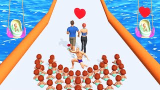 FAMILY RUN 3D game MAX LEVEL 🌈😱👸 Gameplay All Levels Walkthrough iOS, Android New Game FullApp Pro screenshot 5