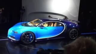 Bugatti Chiron Live Up Close: Geneva Motor Show 2016