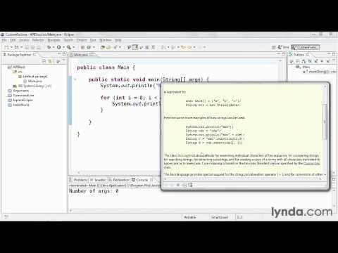 Using the Java API documentation