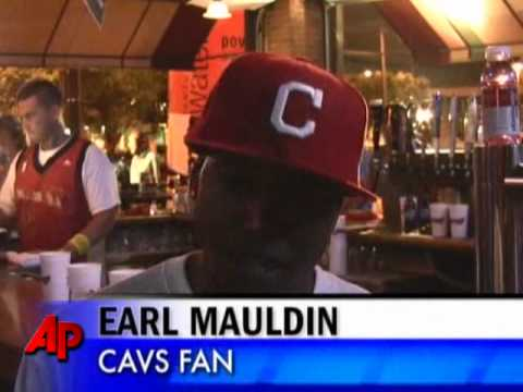 Raw Video: Cavs Fans React to LeBron's Decision