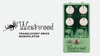 Westwood Transparent Overdrive Guitar Demo | EarthQuaker Devices