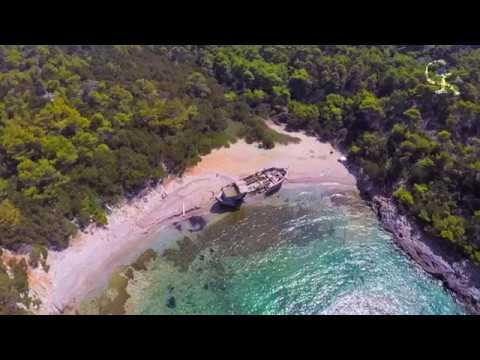 drone πάνω από πλοία & ναυάγια- drone above ships & shipwrecks