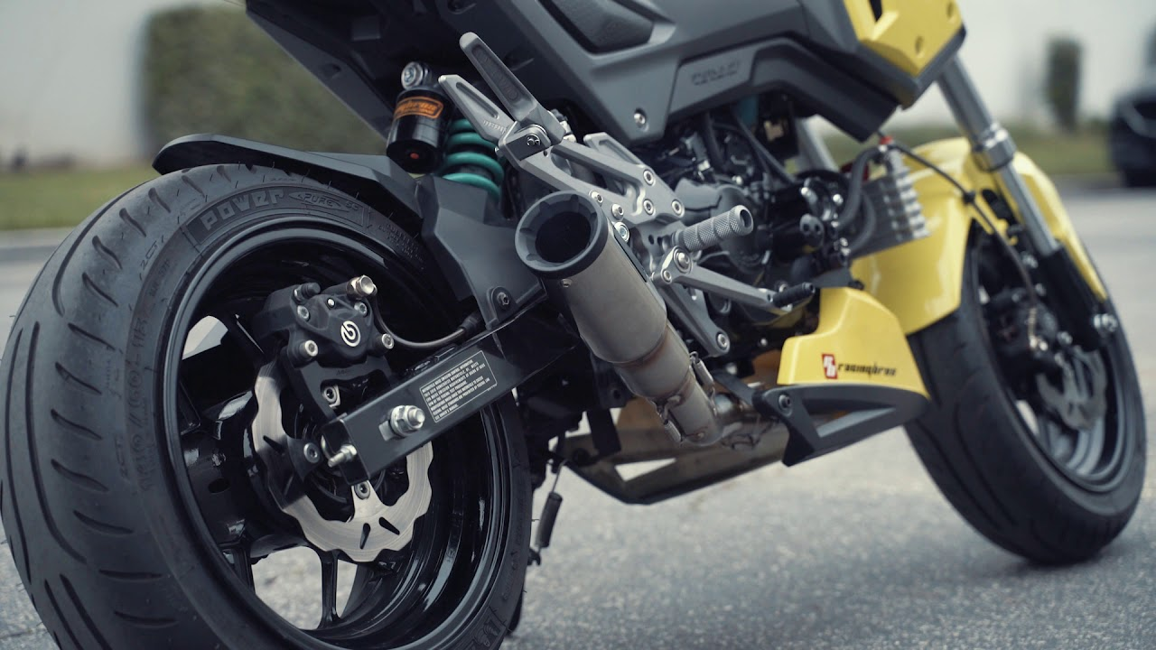 Vance and Hines Hi-Output Hooligan Honda Grom 125 Exhaust Sound Clip