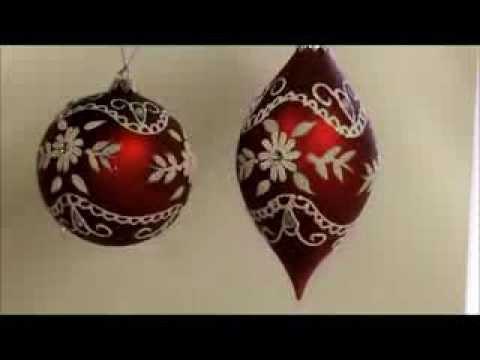 Trim Your Tree With Victorian Glass Ornaments | Sturbridge Yankee Workshop