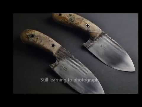 Farrier Rasp Knives First Set Iron Shepherd Forge