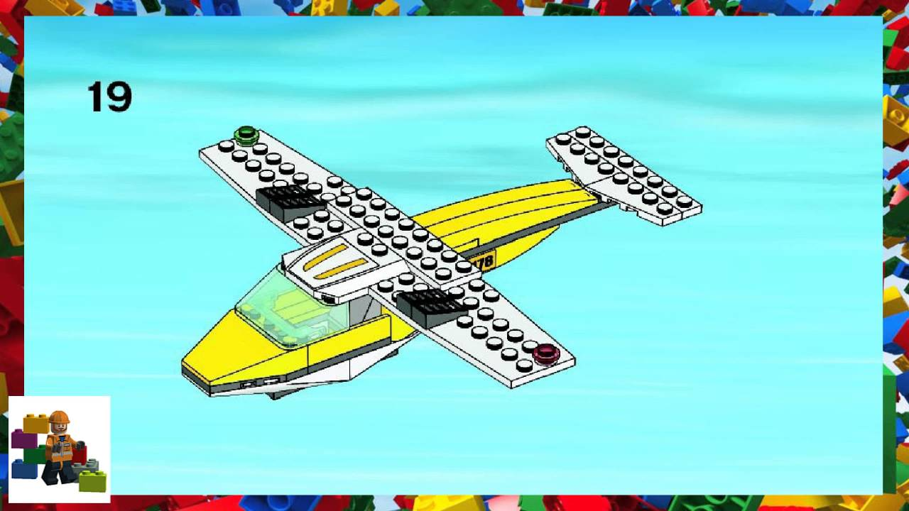 LEGO instructions - City - Airport - 3178 - Seaplane (Book 2)