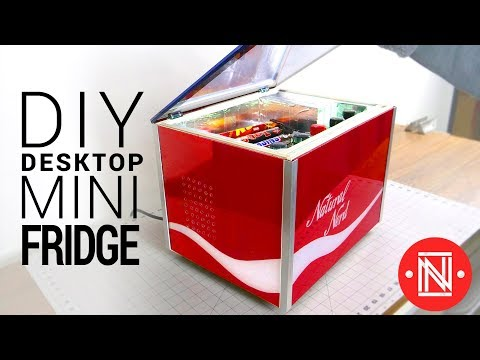 DIY Desktop Mini Fridge (5°C!!)