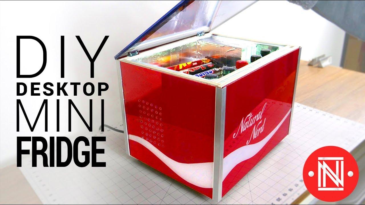 diy desktop mini fridge 5 c  [ 1280 x 720 Pixel ]