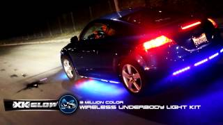 XKGLOW Advanced 3 Million Color 16pcs LED Undercar Lighting Kit