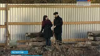 видео Дворец Марли в Петергофе
