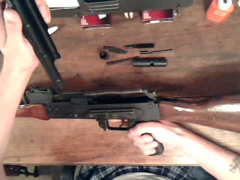 AK47: Pt 1 of 5 detailed cleaning of the ak47 type rifle