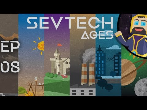 Sevtech: Ages 08 - Atlas, Livestock, Totemic, Buffalo
