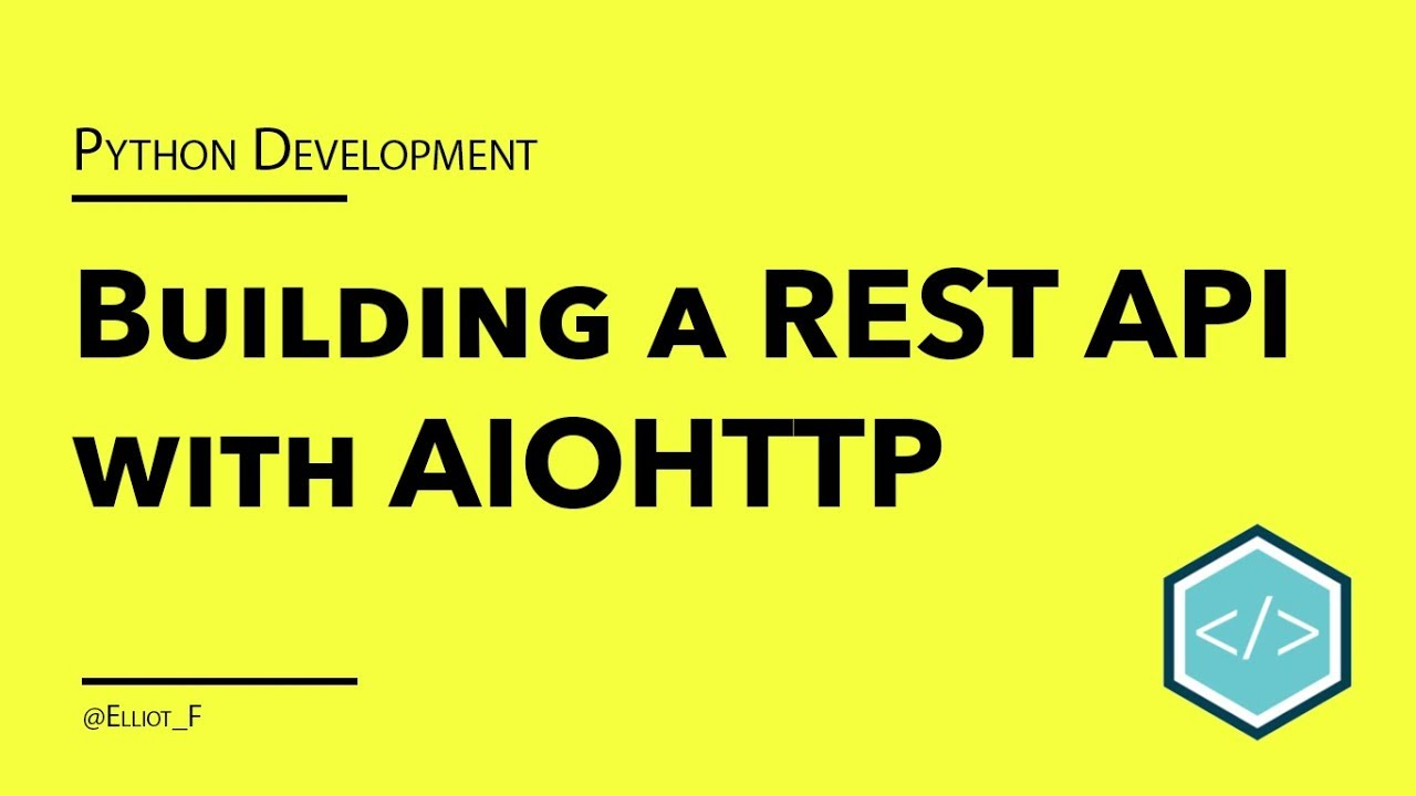 Creating a RESTful API with Python and aiohttp