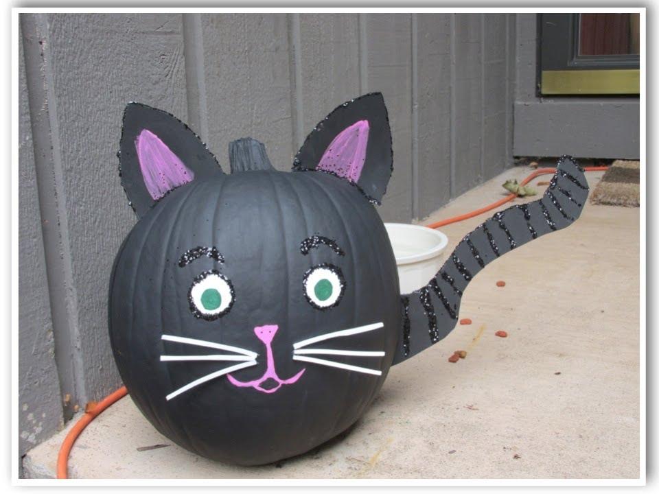 Pumpkins Black Cats