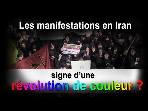 Les manifestations en Iran : signe d'une révolution de couleur ?