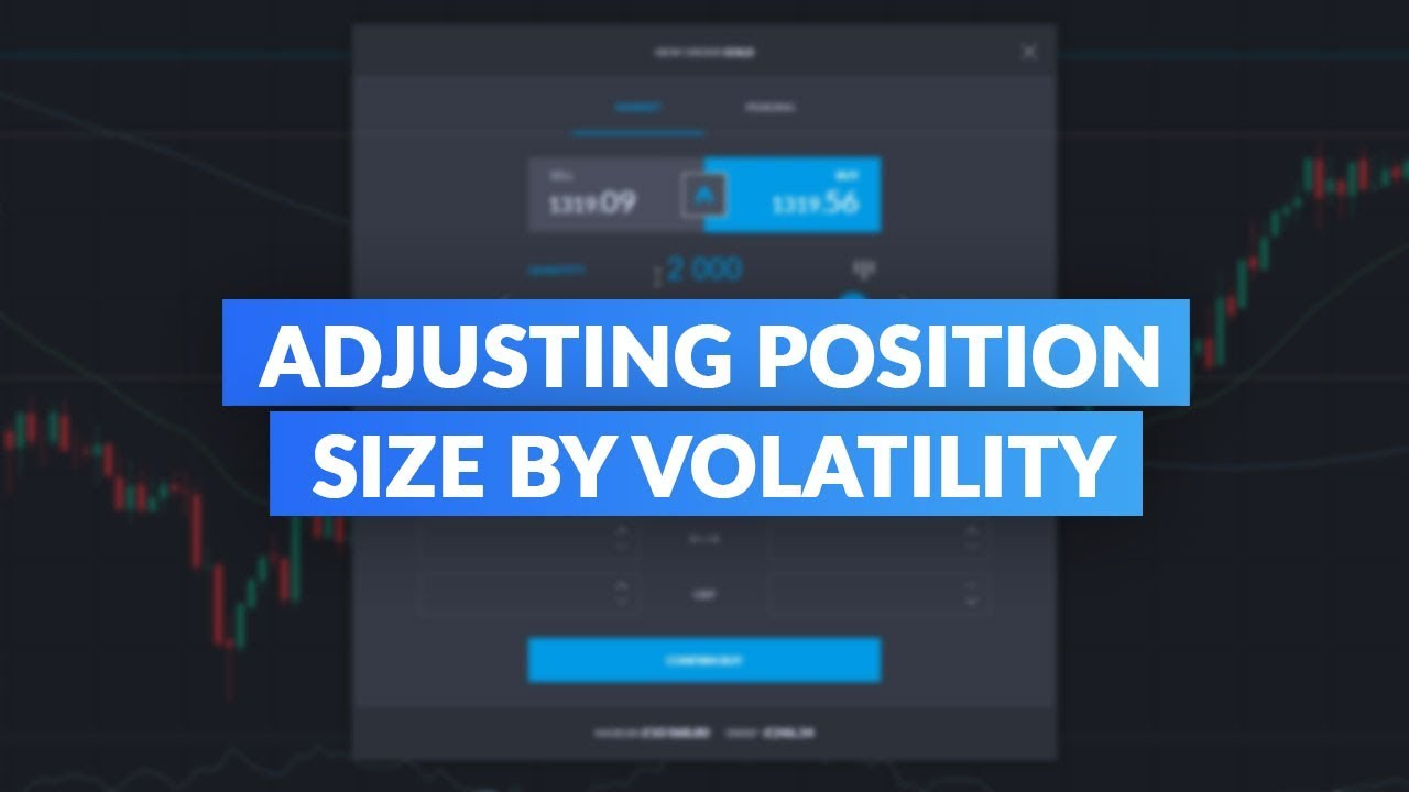 Average True Range Indicator Atr Adjusting Position Size By